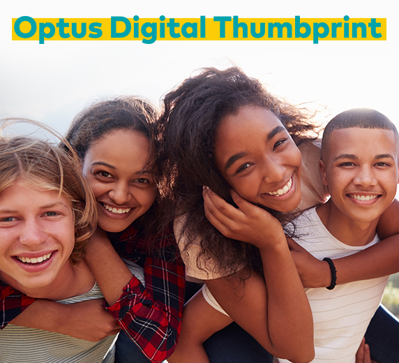 Optus Digital Thumbprint