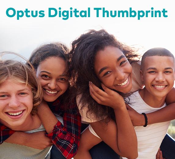 Optus Digital Thumbprint LMS