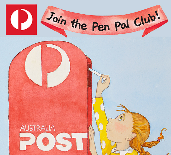 Australia Post – Join the Pen Pal Club