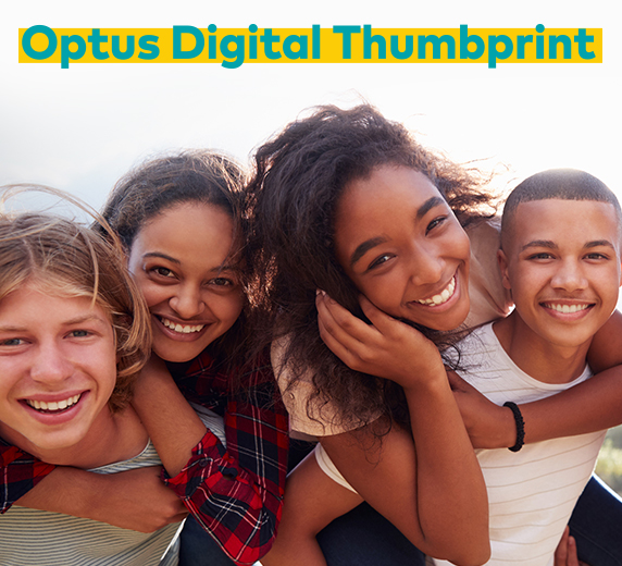 Optus Digital Thumbprint